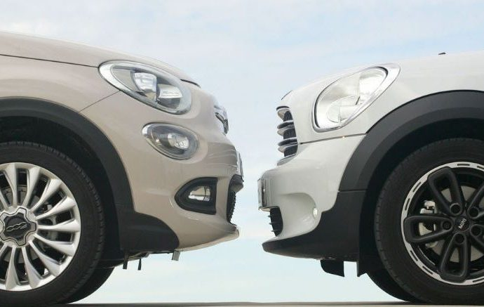 Mini Countryman Vs Fiat 500X.