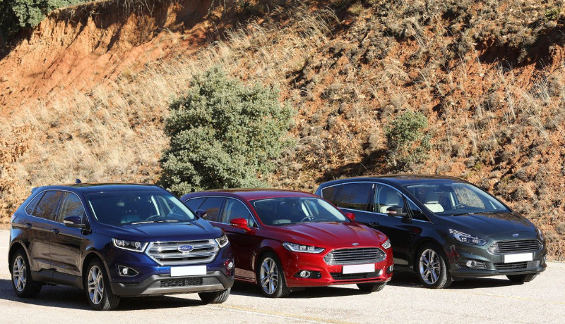 Ford: Edge, Mondeo Sportbreak y S-Max