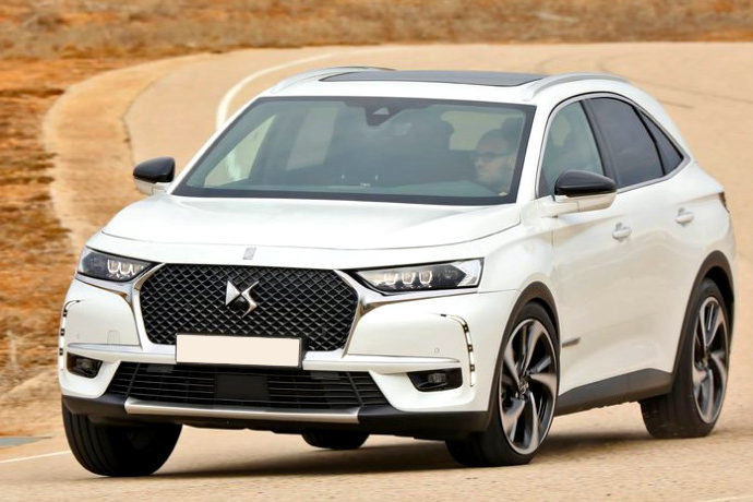DS 7 Crossback BlueHDI 180 Grand Chic.