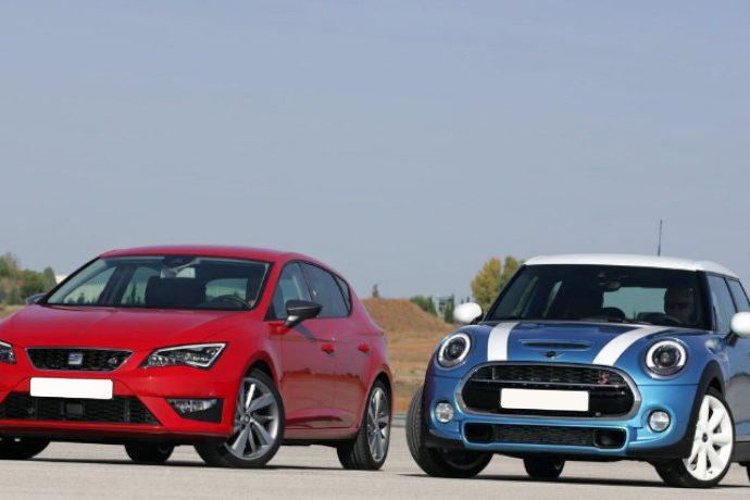 Mini Cooper 5p / Seat León FR. Comparación.