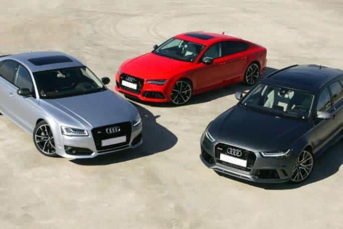 Audi RS 6 Performance, Audi RS 7 Performance y Audi S8 Plus. Legión de guerreros.