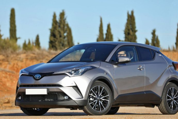Toyota C-HR. 122 CV con tecnología híbrida.