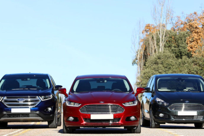 Ford Edge, Mondeo Sportbreak y S-Max