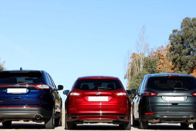 Ford: Edge, Mondeo Sportbreak y S-Max