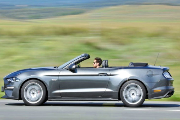 Ford Mustang Convertible GT 5.0 AUT.
