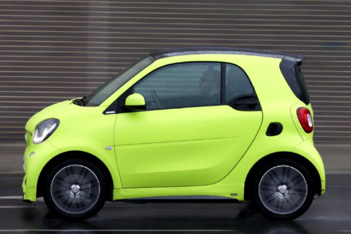 Smart Fortwo Coupe 66 kw Turbo Twinamic