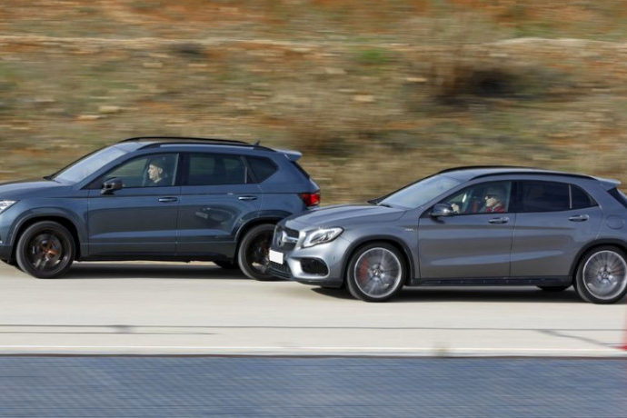 Cupra Ateca Vs Mercedes-AMG GLA 45