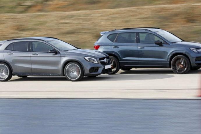 Cupra Ateca 2.0 TSi 4Drive Vs Mercedes-AMG GLA 45 4Matic