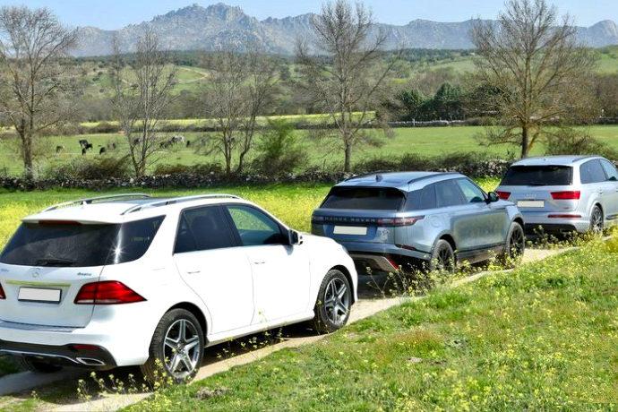 Audi Q7 3.0 TDI Quattro/Mercedes GLE 350d 4Matic/Range Rover Velar D240 4WD
