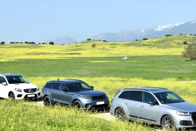 Audi Q7 3.0 TDI Quattro/Mercedes GLE 350d 4Matic/Range Rover Velar D240 4WD.... Líderes y rivales